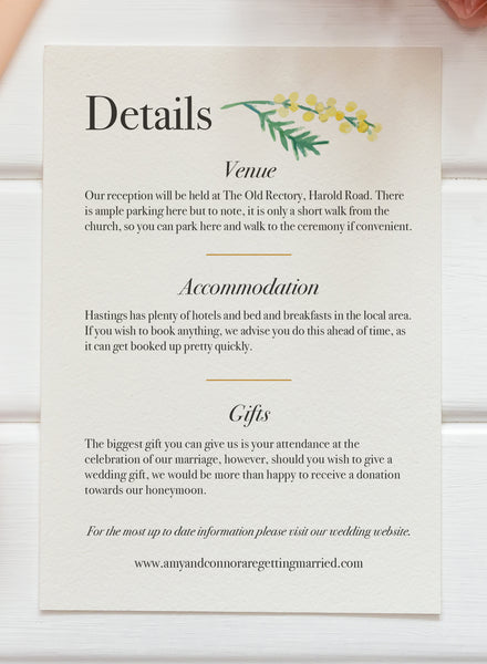 Vintage Bloom Wedding Stationery