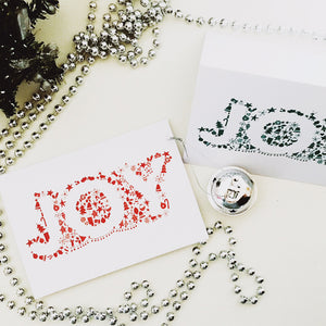 Joy Christmas Cards Pack of 10