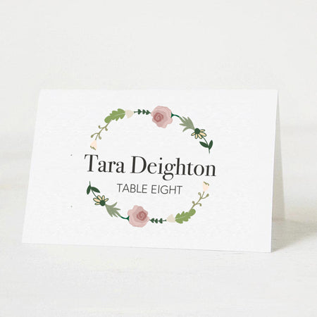 Meadow Lights Table Place Card