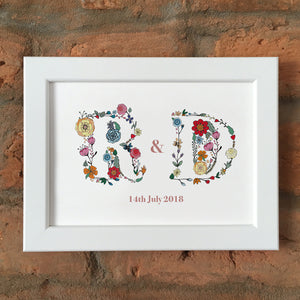 Meadow Brights Anniversary Print