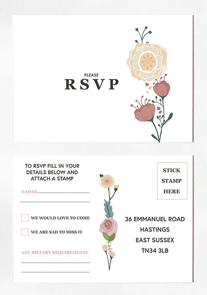 Meadow Lights Wedding Stationery