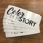 Color HerStory Bumper Sticker