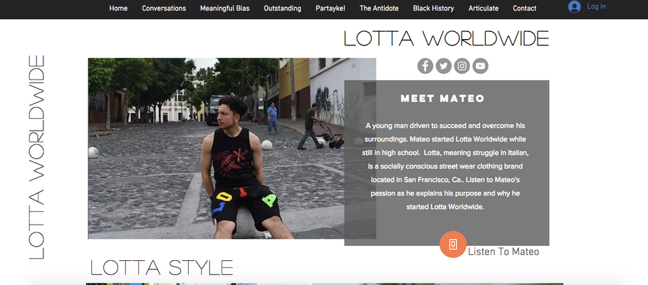 LottaWorldwide Podcast on Partayke! - Get Inspired