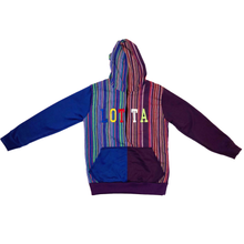 Load image into Gallery viewer, Chapin Multi Color Letterman Hoodie - LOTTAWORLDWIDE