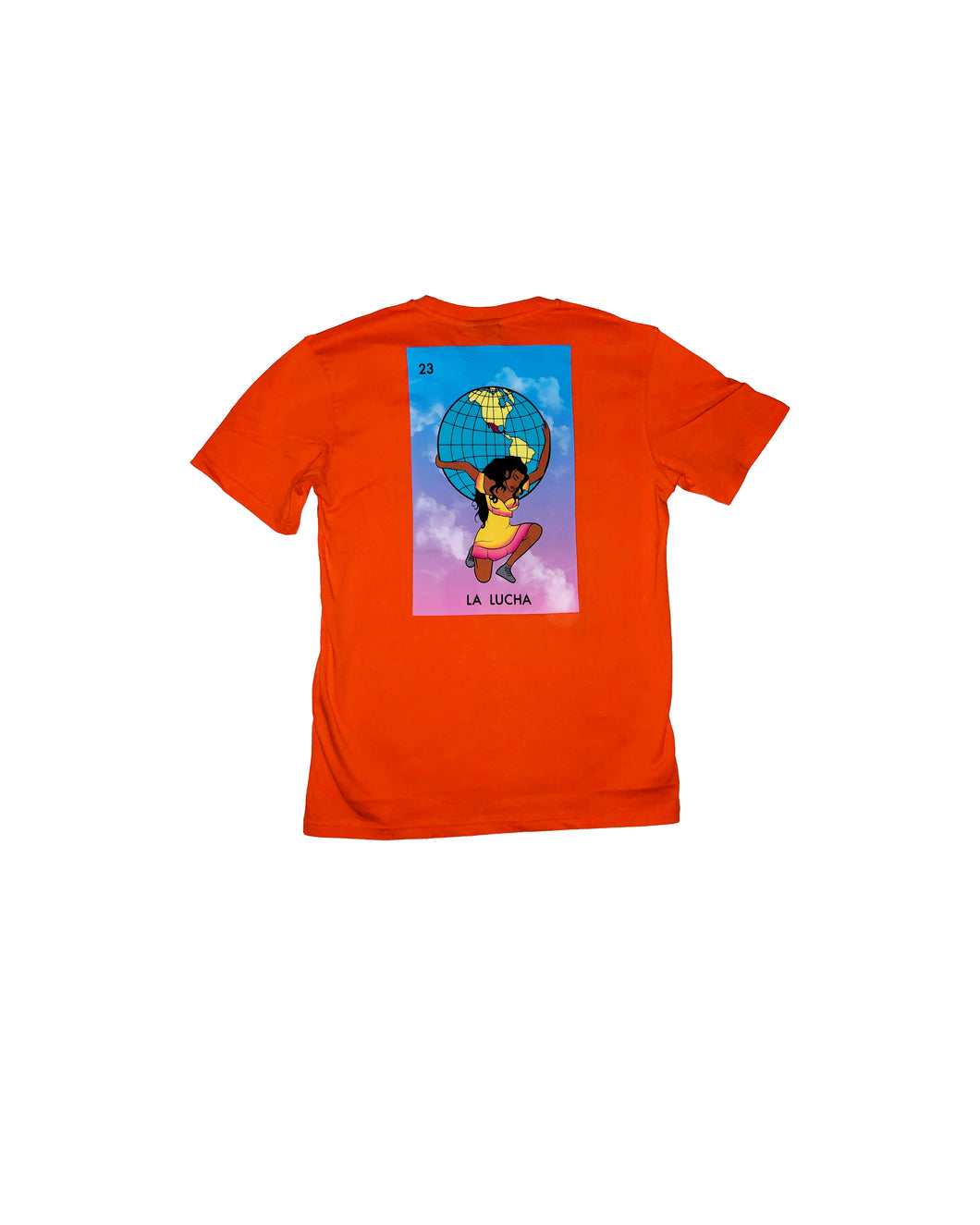 La Lucha Orange Tee - LOTTAWORLDWIDE
