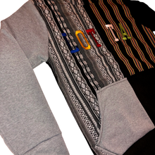 Load image into Gallery viewer, Maya Multi Color Letterman Hoodie - LOTTAWORLDWIDE
