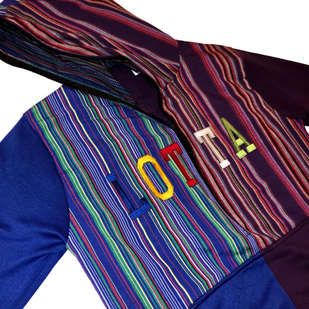 Chapin Multi Color Letterman Hoodie - LOTTAWORLDWIDE