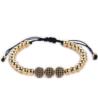 Spherical Beaded Bracelet