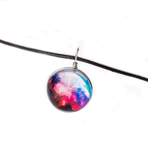 Galaxy Sphere Necklace