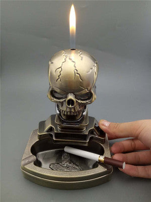 Creative Skull Cigarette Ashtray