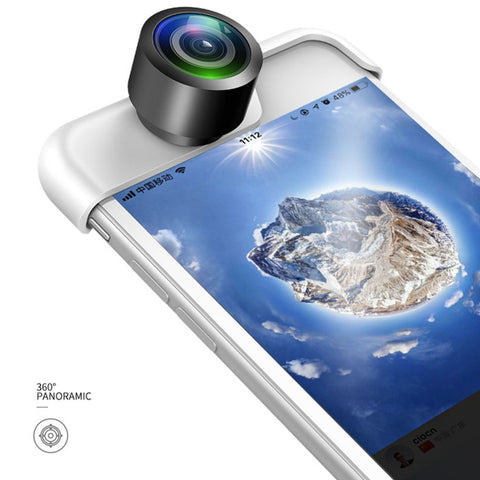 360 Panoramic Lens for iPhone X / Plus / 8 / 7 / 6