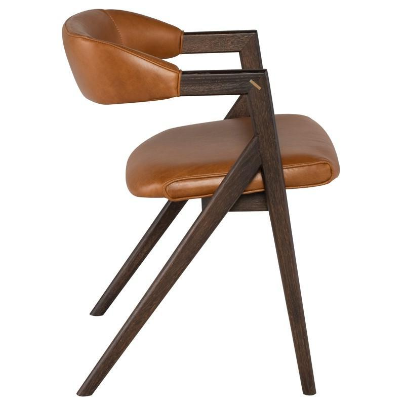 Archie Leather Chair - Seating - Black Rooster Maison