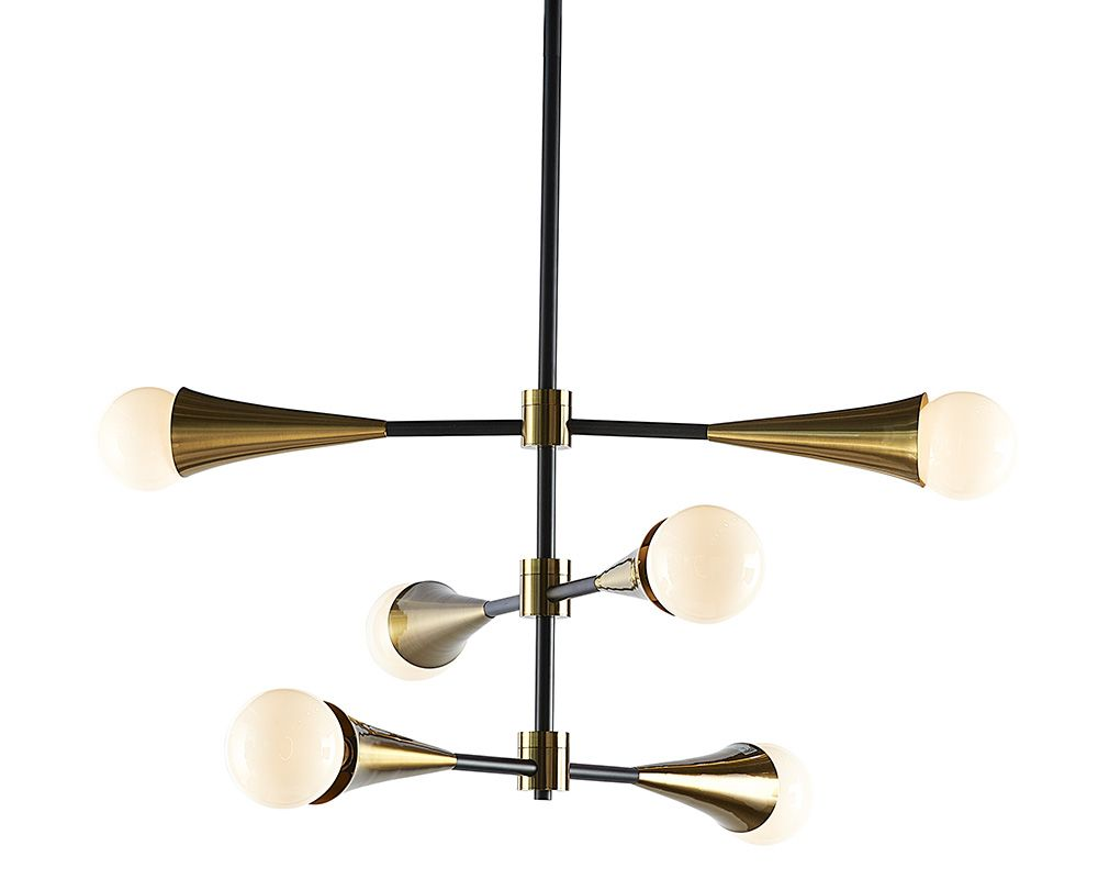 Lennox Chandelier - Lighting - Black Rooster Maison