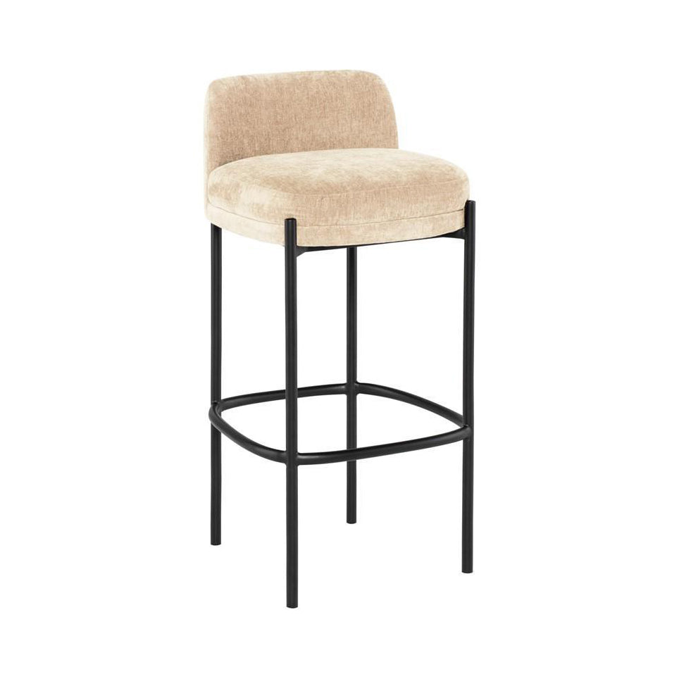 Almond Stool - Seating - Black Rooster Maison