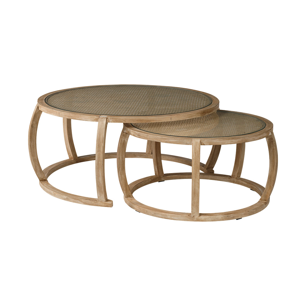 Baha Coffee Table Set - Tables - Black Rooster Maison