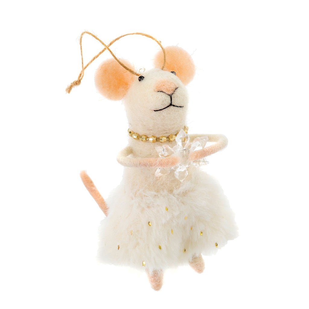 Fancy Dress Mouse Ornament