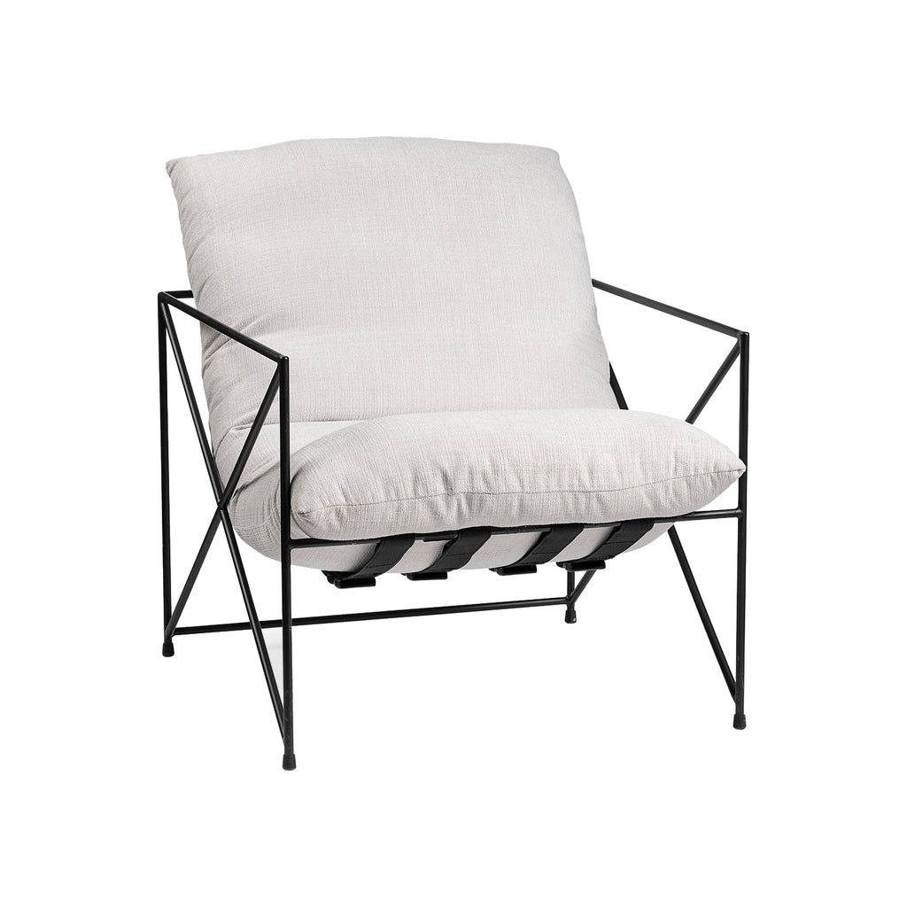 Barge Lounge Chair - Black Rooster Maison