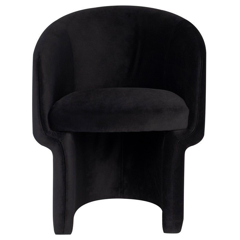 Barrel Dining Chair - Seating - Black Rooster Maison