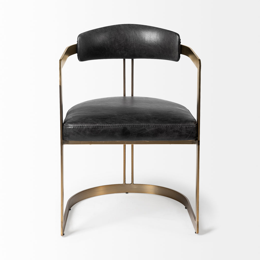 Black Cole Chair - Black Rooster Maison