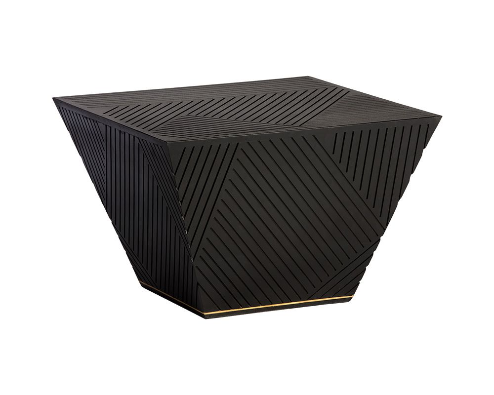 Garcia Coffee Table - Black Rooster Maison