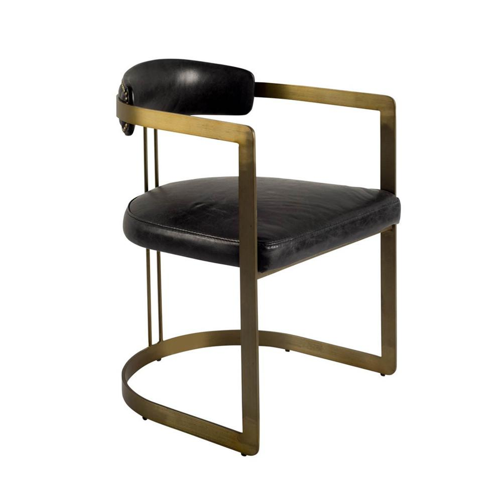 Black Cole Chair - Furniture - Black Rooster Maison