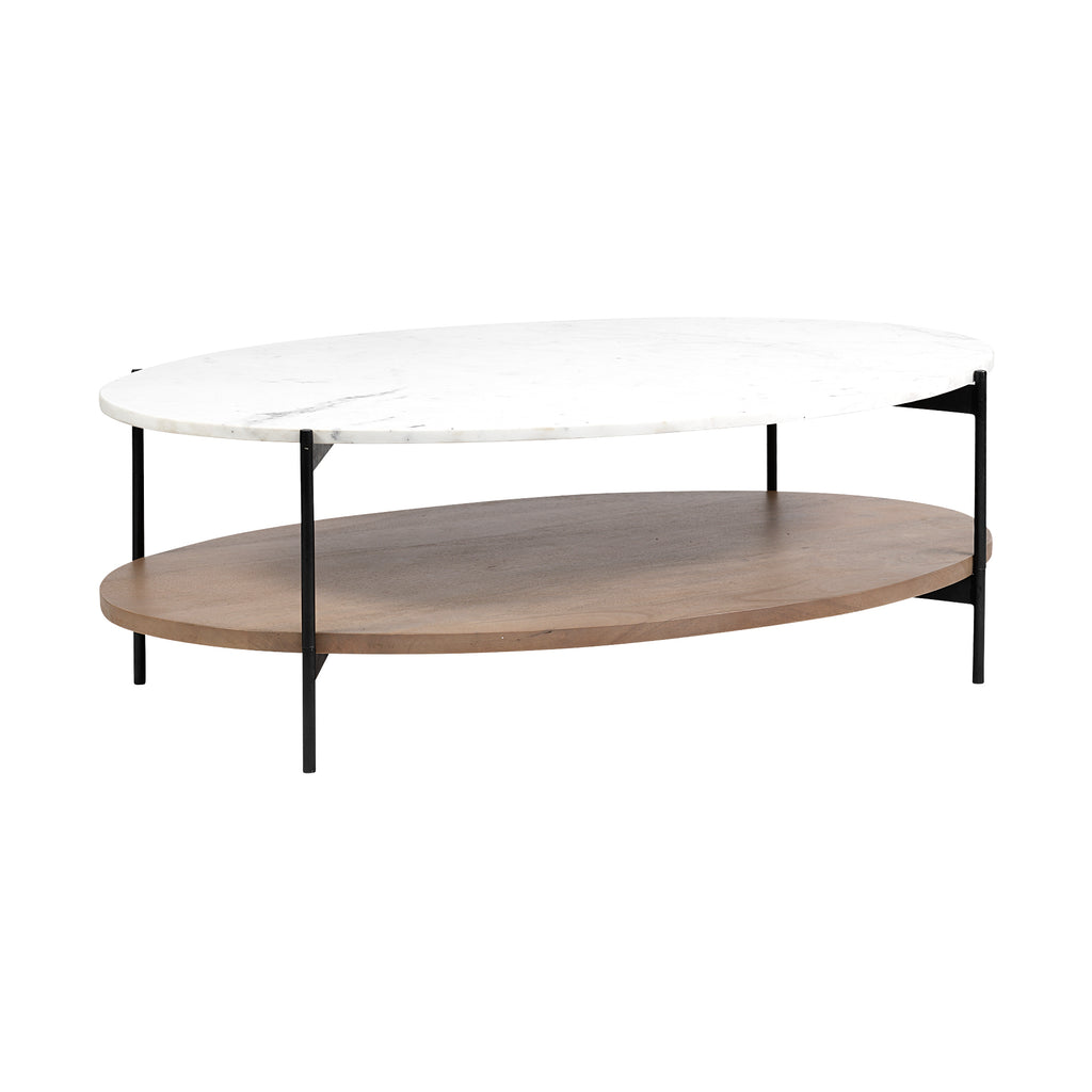 Dua Coffee Table - Furniture - Black Rooster Maison