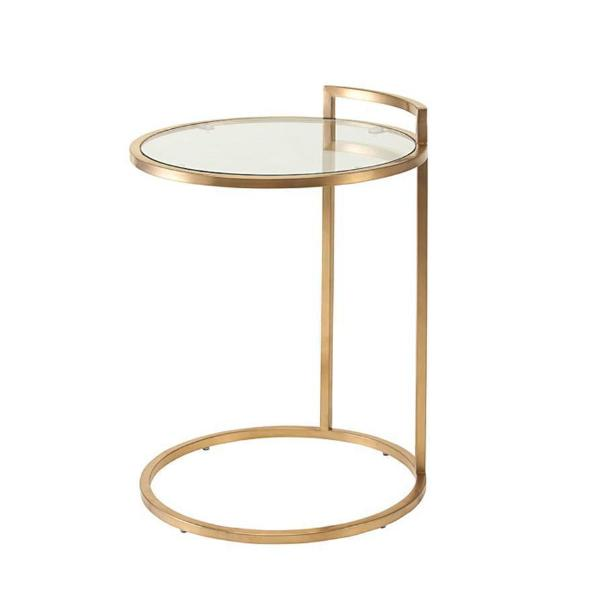 Elle Side Table - Furniture - Black Rooster Maison