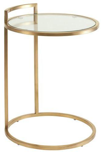 Elle Side Table - Black Rooster Maison