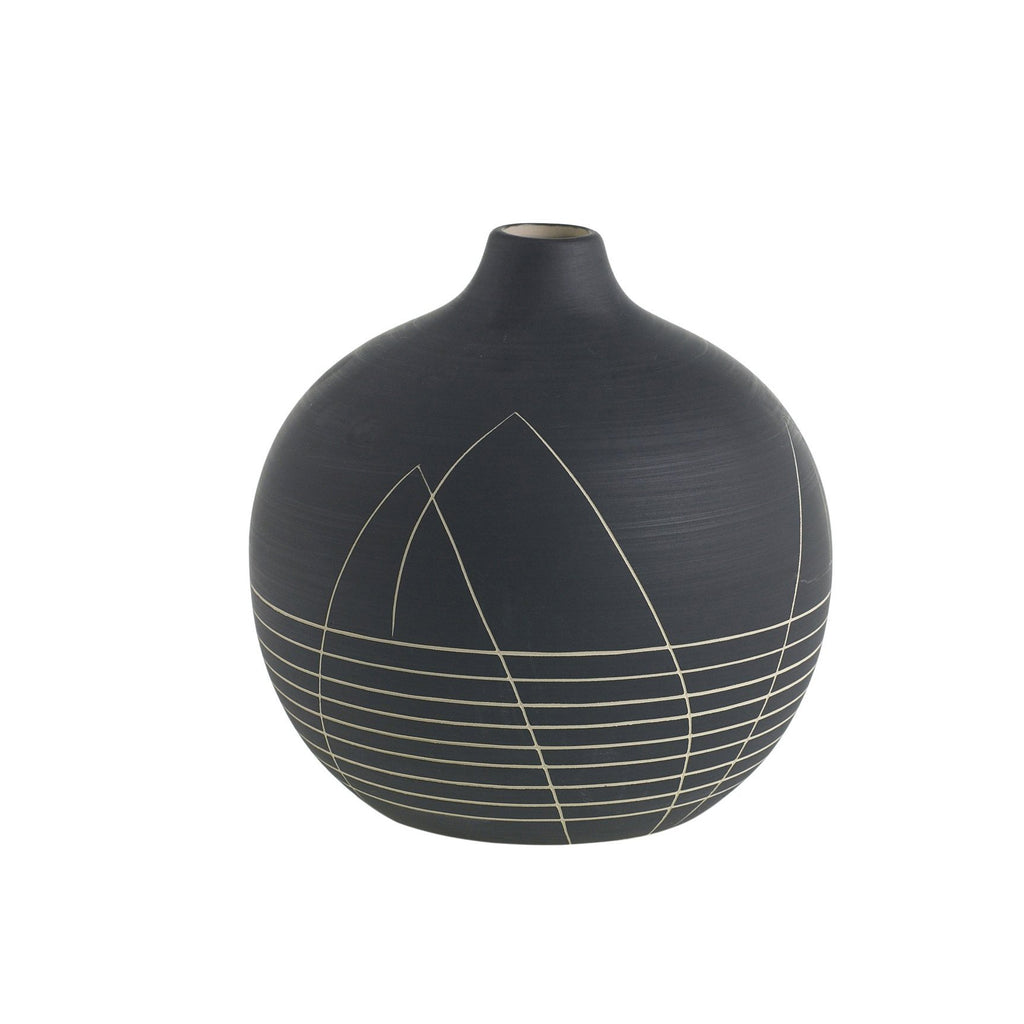 Everleigh Vase - Black Rooster Maison