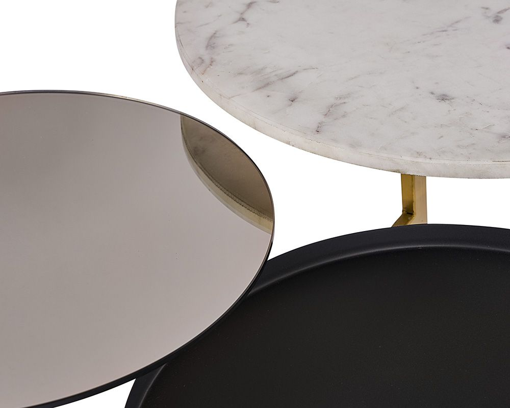 Francis Coffee Table - Black Rooster Maison