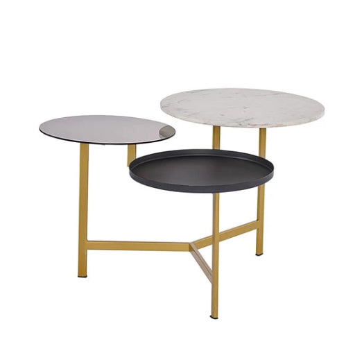 Francis Coffee Table - Tables - Black Rooster Maison
