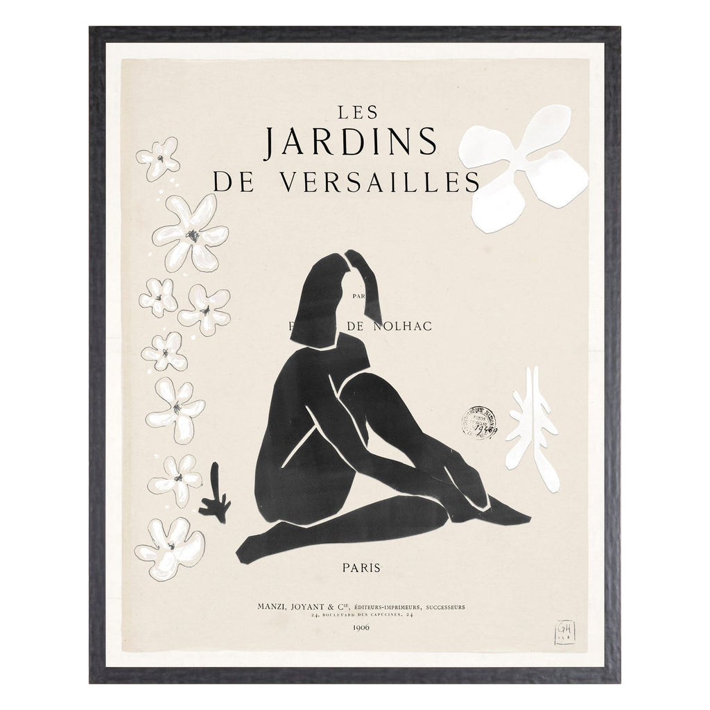 Jardins Drawing - Black Rooster Maison