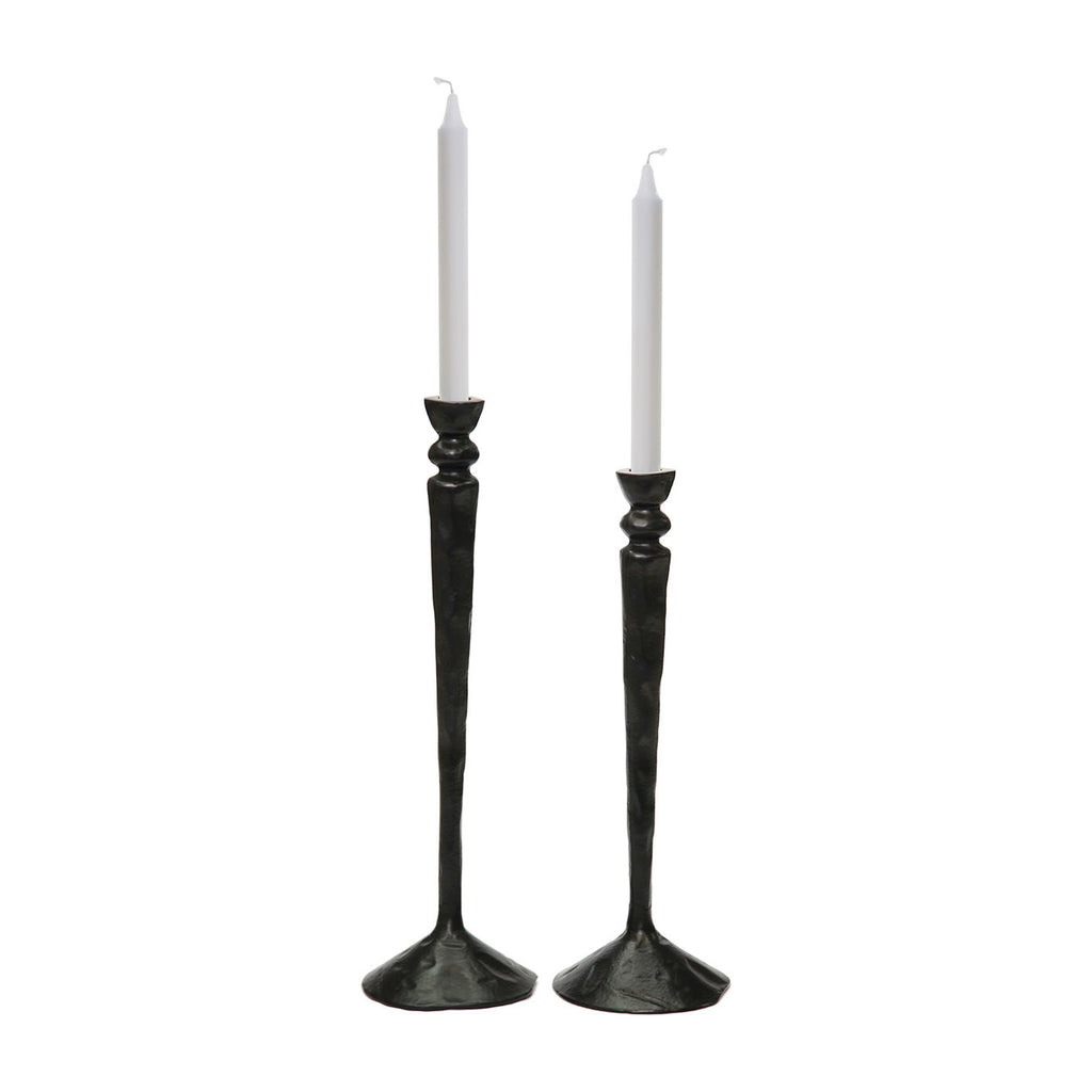 Lucy Candlesticks - Pair - Accessories - Black Rooster Maison