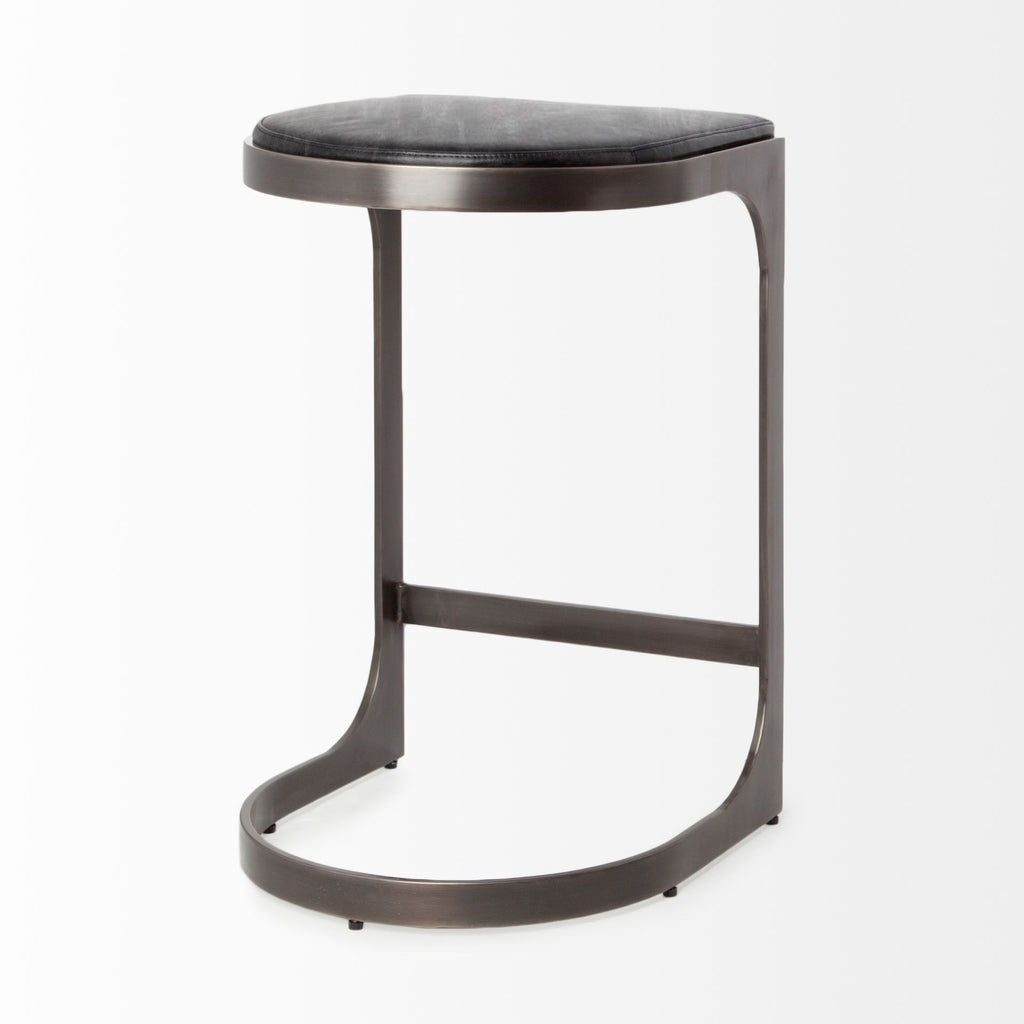 Marc Black Stool - Seating - Black Rooster Maison
