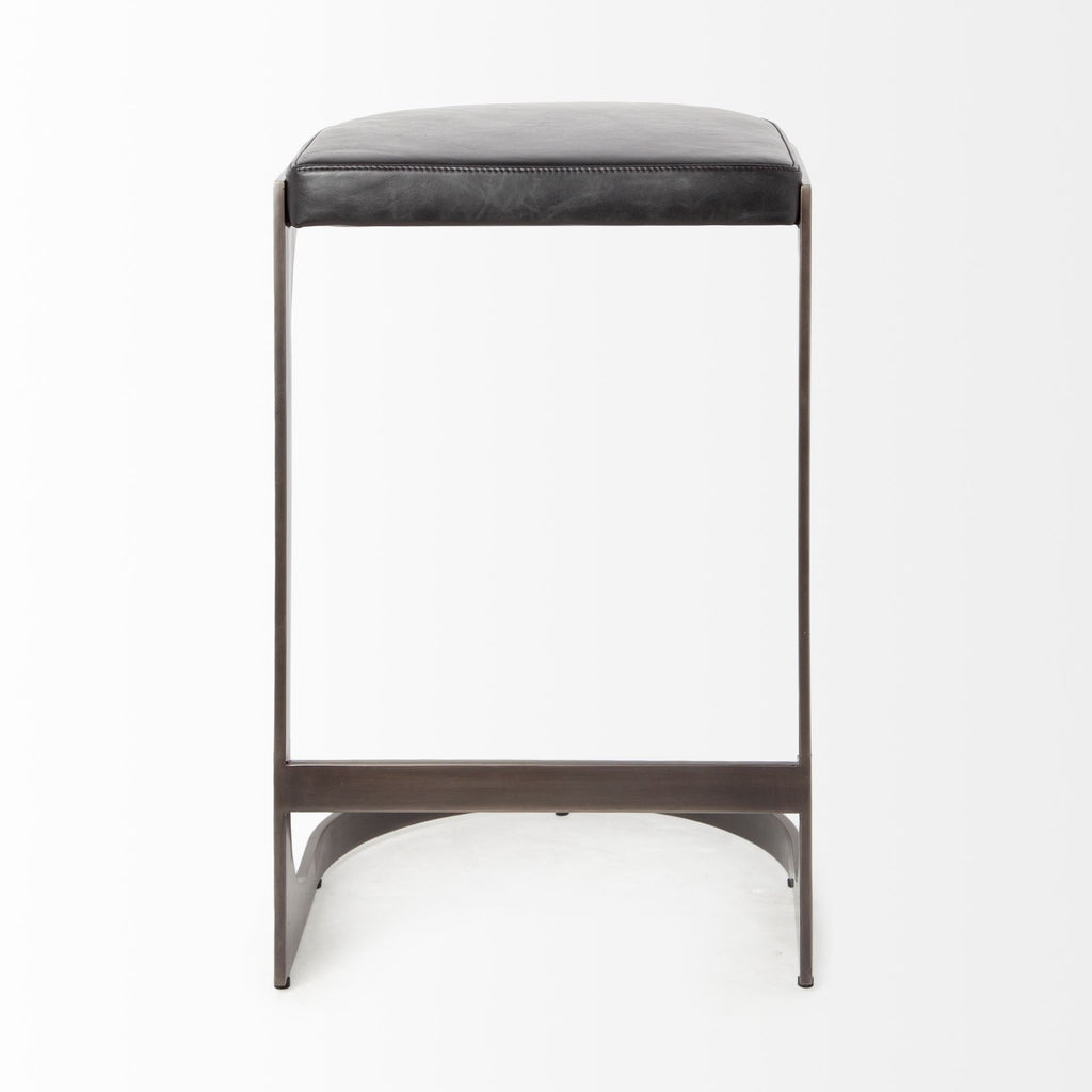 Marc Black Stool - Furniture - Black Rooster Maison