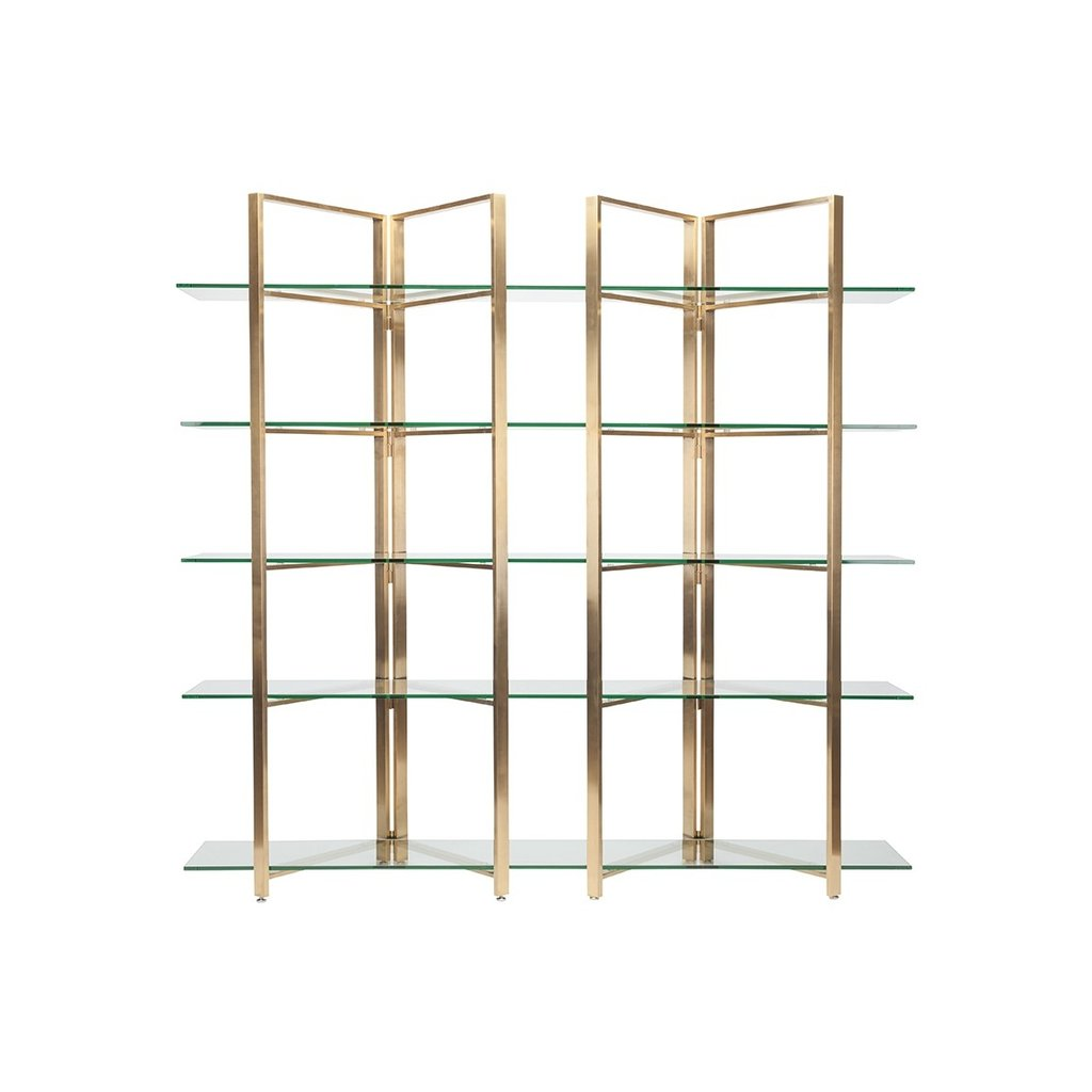Marilyn Shelving Unit - Black Rooster Maison