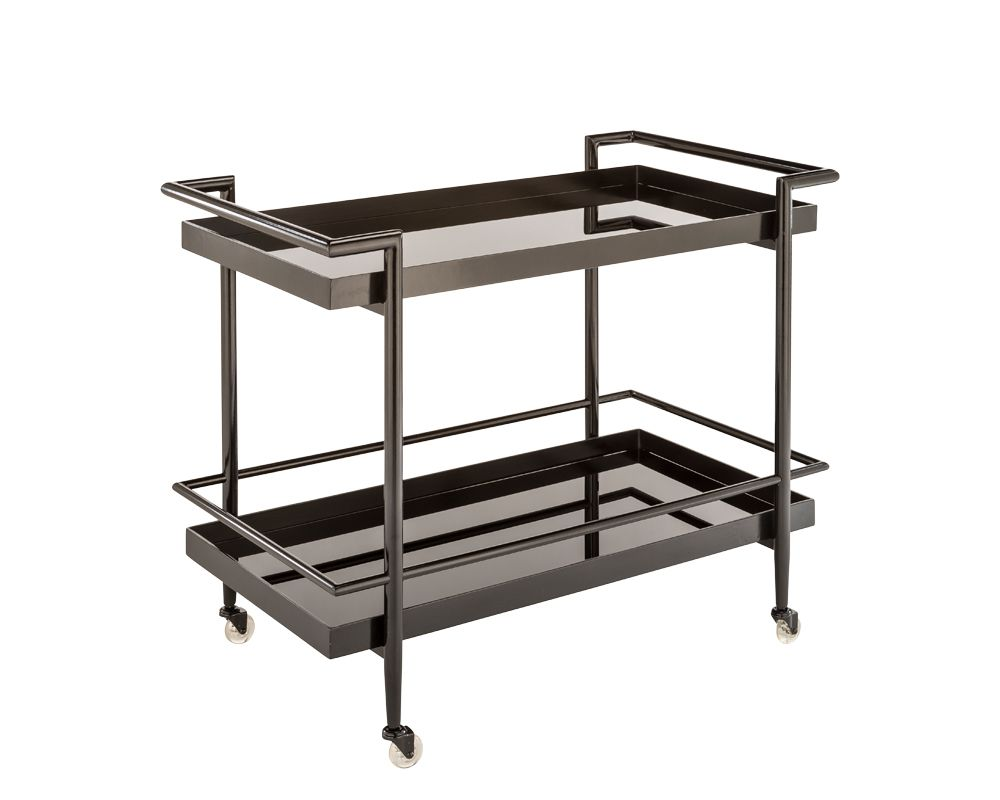 Barkley Bar Cart - Tables - Black Rooster Maison