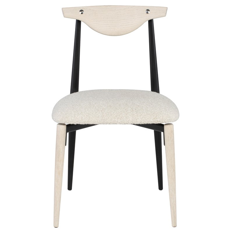 Montrer Boucle Dining Chair - Black Rooster Maison
