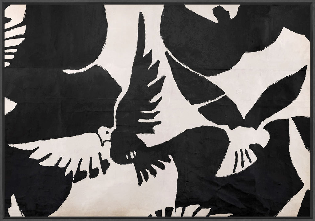 Oiseaux in Acrylic - Wall Art - Black Rooster Maison