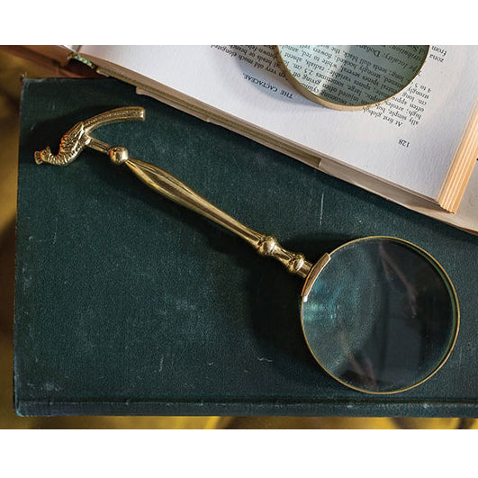 Peacock Magnifying Glass - Accessories - Black Rooster Maison