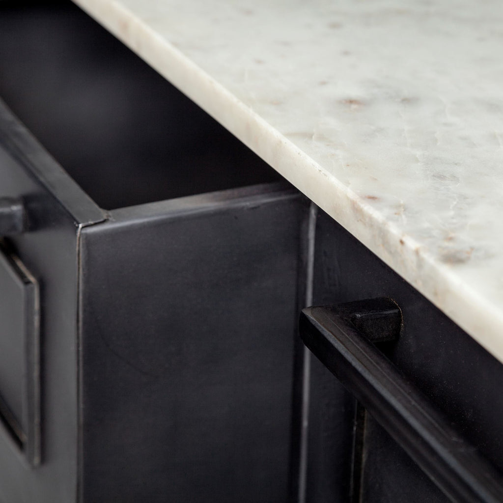 Plateau Kitchen Island - Furniture - Black Rooster Maison