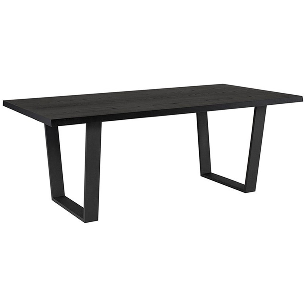 Rae Dining Table - Black Rooster Maison
