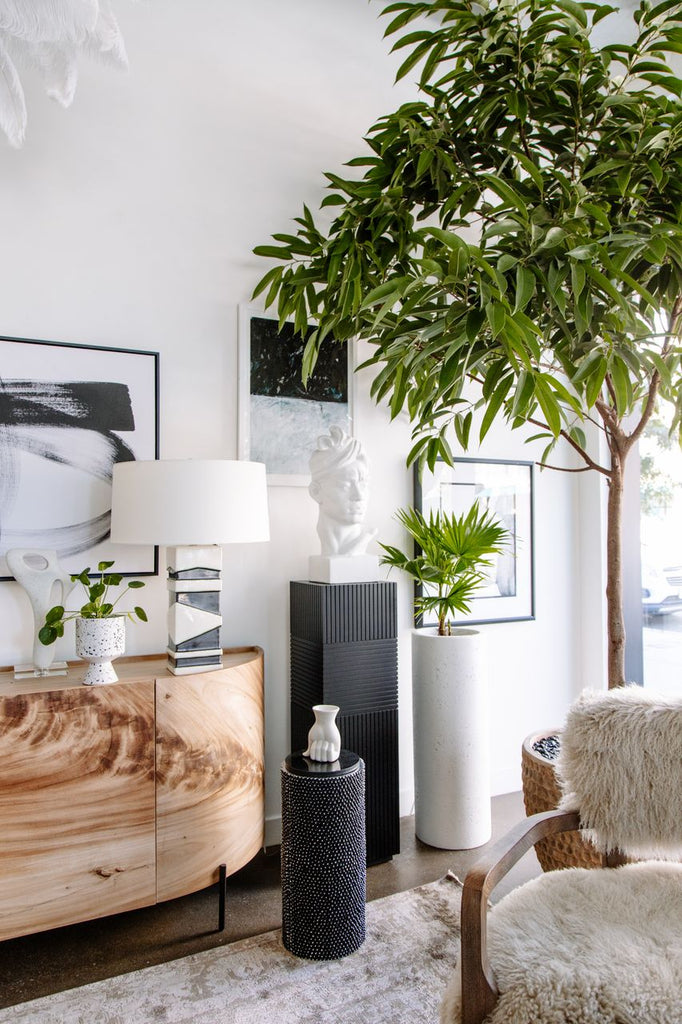Riad Planter/Column - Black Rooster Maison