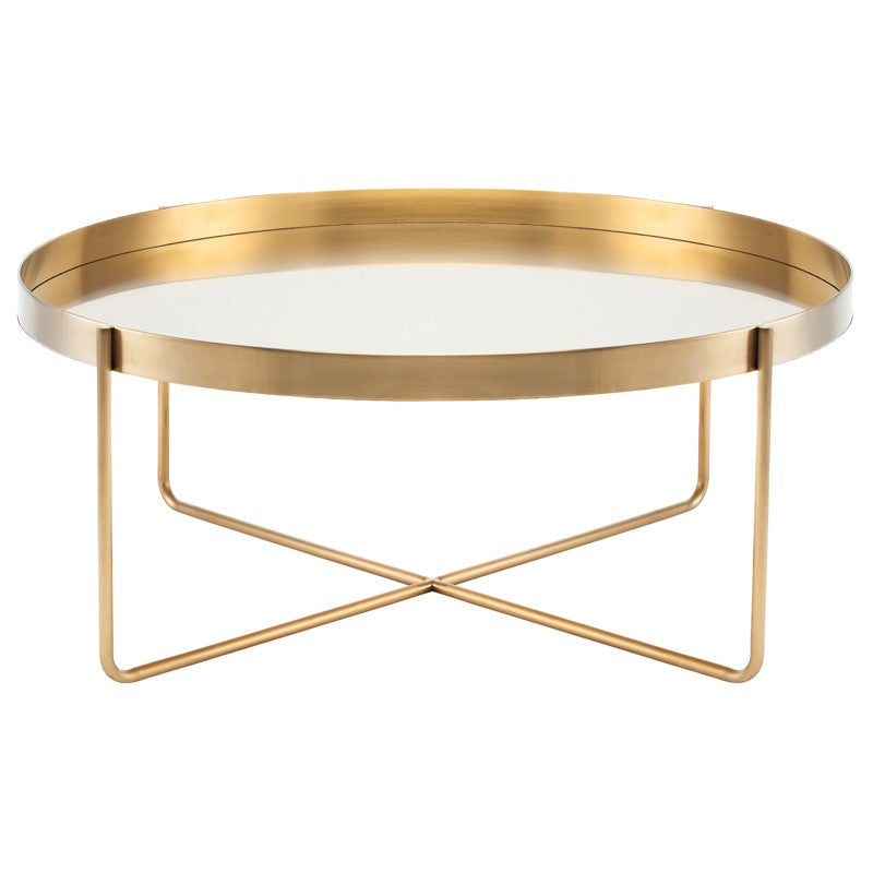 Beau Gold Coffee Table - Furniture - Black Rooster Maison