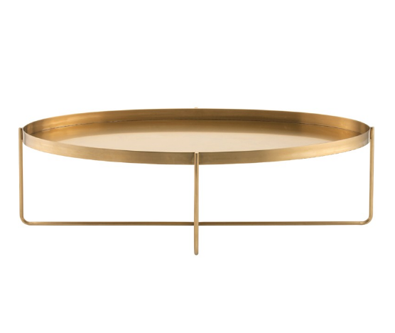 Beau Gold Coffee Table - Tables - Black Rooster Maison