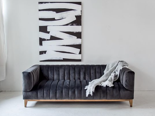 Ella Sofa - Furniture - Black Rooster Maison