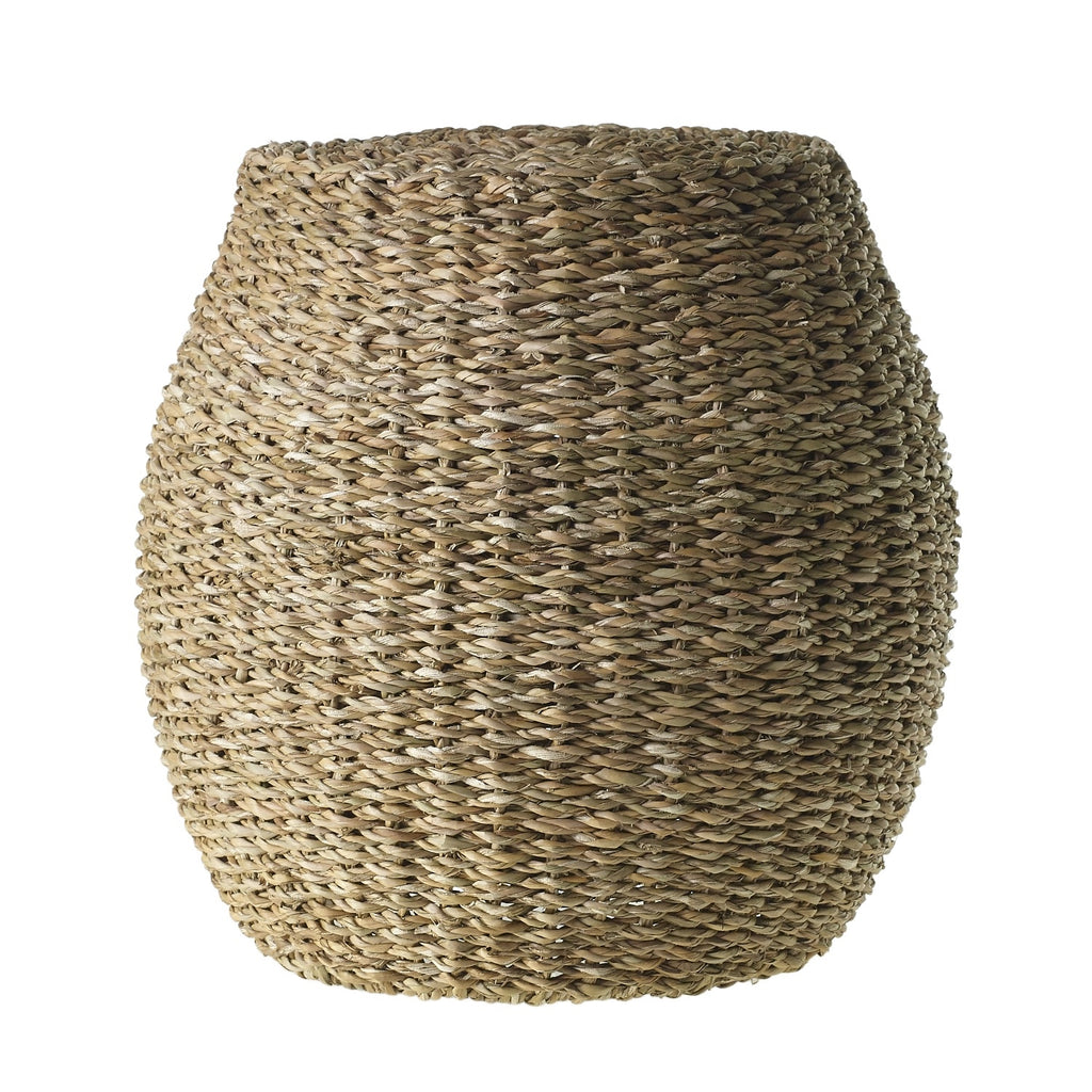 Seagrass Stool - Tables - Black Rooster Maison