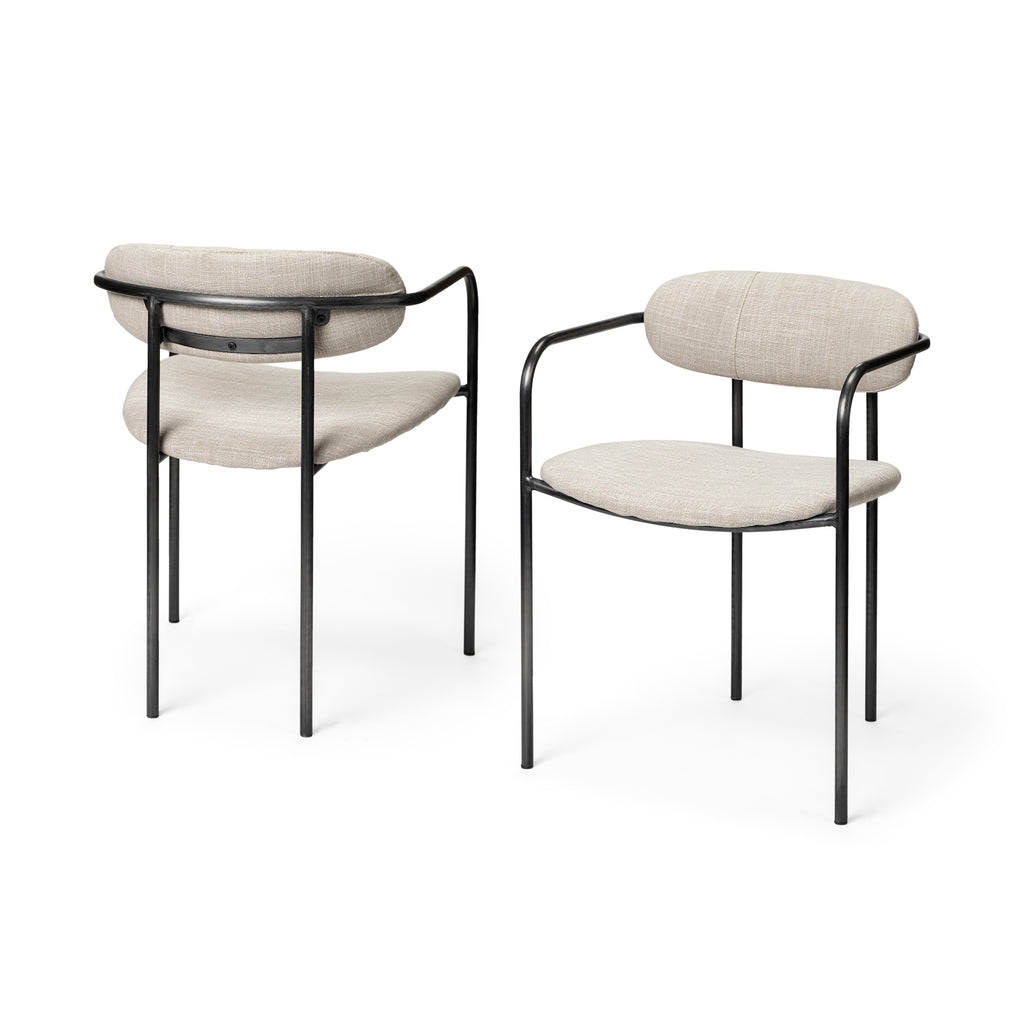 Kurt Chair - Pair - Seating - Black Rooster Maison