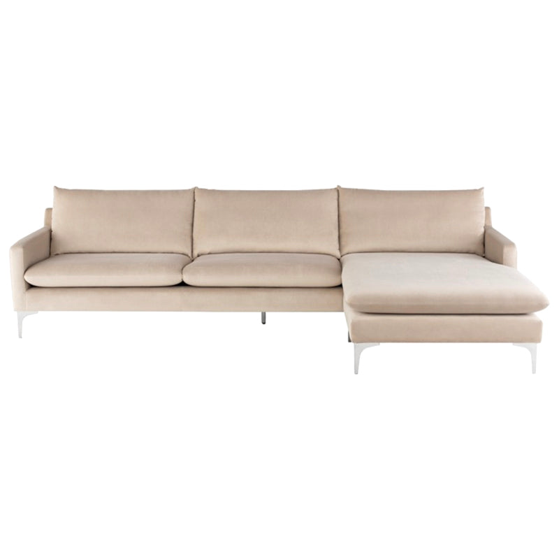 Cooper Nude Sectional - Furniture - Black Rooster Maison