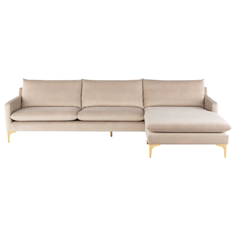 Cooper Nude Sectional - Black Rooster Maison